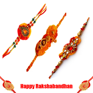 Three Rakhis