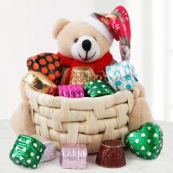 Teddy Basket n Chocolates