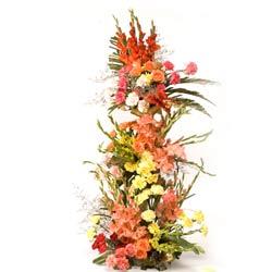 Exotic Flowers Basket