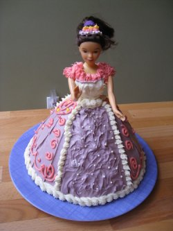 2KG Barbie Doll Cake