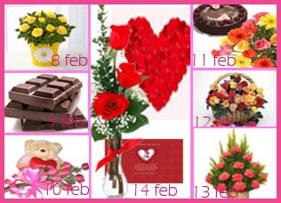 Propose Day to Valentines Day