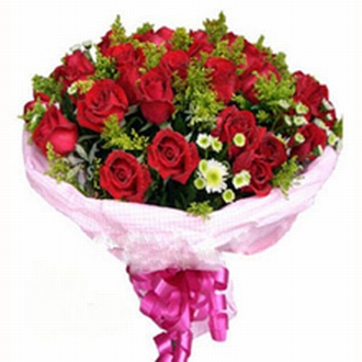 60 Red Roses Bunch
