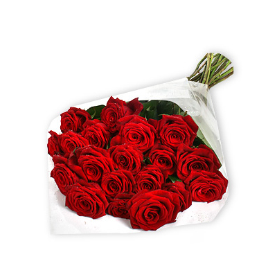 20 Red Colour Roses Bunch