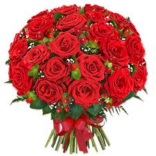 24 Stunning Red Roses Bunch Kolkata