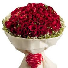 Hundred Red Roses Bunch