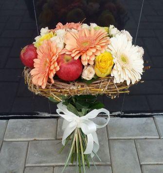 Fruits Flowers Bouquet