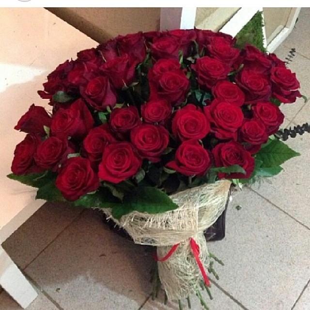36 Rose in Jute