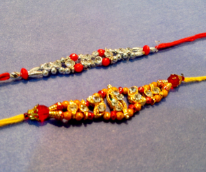 Colorful Set 2 Rakhis C1888