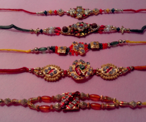 Set of 5 Rakhis C1883