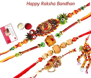 Set of 5 Rakhis C1643