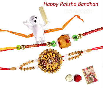 Set of 3 Rakhis C1641