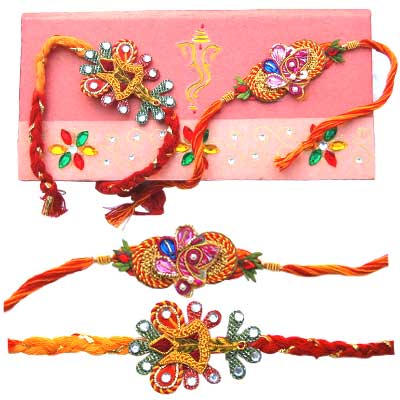 Two Fancy Rakhis C1107