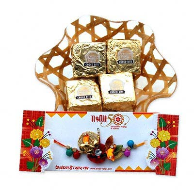 Affectionate Wish Rakhi with Sweets