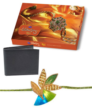 Rakhi Pack with Wallet C1722