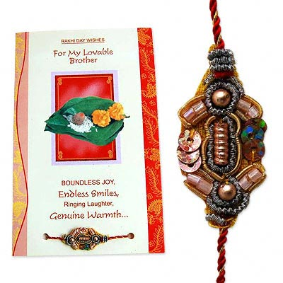 Rakhi and Card Pack C1105