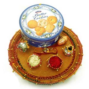 Small Rakhi Package with Lumba C1085
