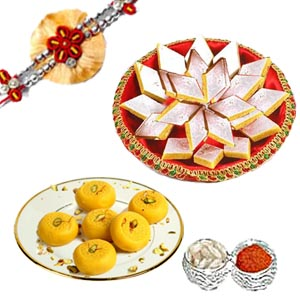 Rakhi Medium Size Hamper C1055
