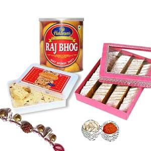 Rakhi RajBhog Barfi etc