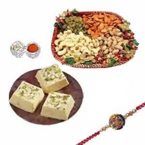 Rakhi Hamper Dry Fruits n Sweets