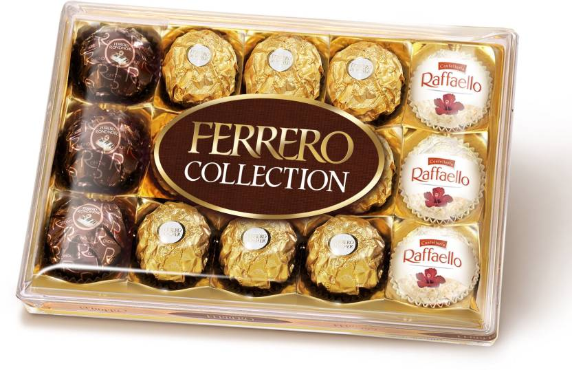 Ferrero Collection Pack - 15 pcs Assorted Chocolate Flavors