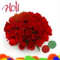Holi with Roses