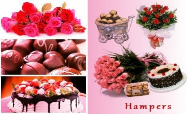 Flower Hampers (Combos) to Delhi