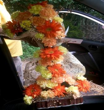 New Floral Basket
