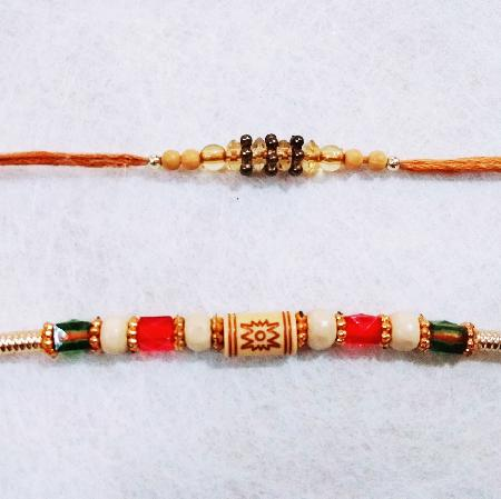 2 Beautiful Rakhis RC003