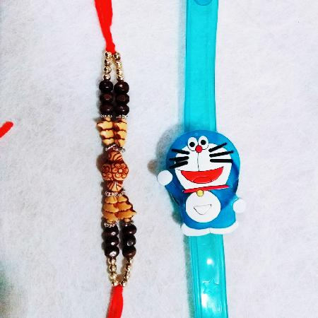Doraemon and Stone Rakhi