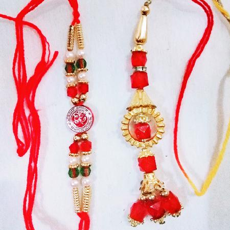 Red Rakhi and Lumba