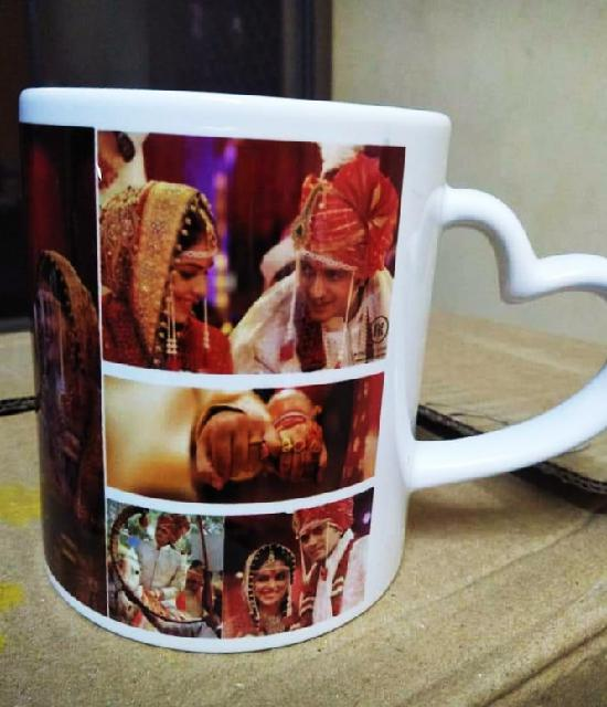 Memorable Marriage Pics Mug