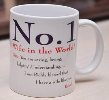 No 1 Wife Mug