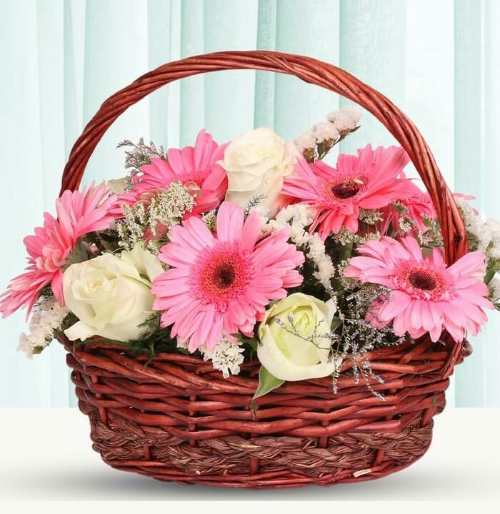New Mothers Day Flowers Basket