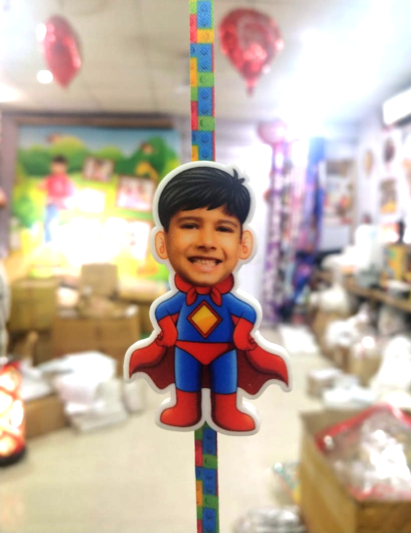 SuperMan Bro Pic Rakhi