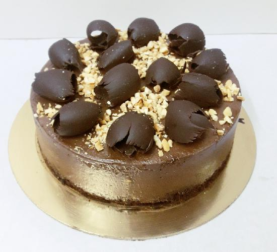 Chocolate Truffle Dry Fruits Cake