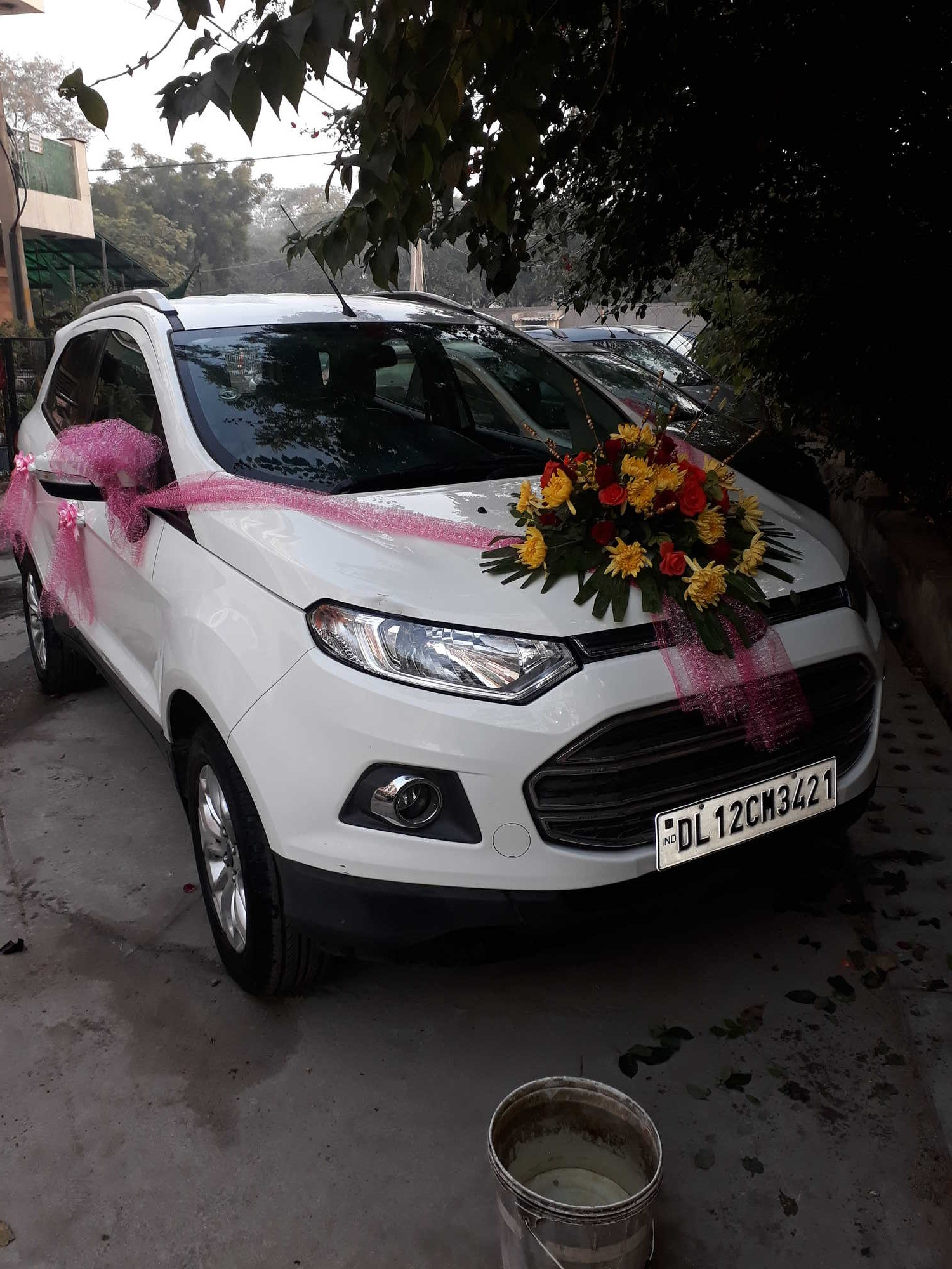 Simple Doli Car Decoration