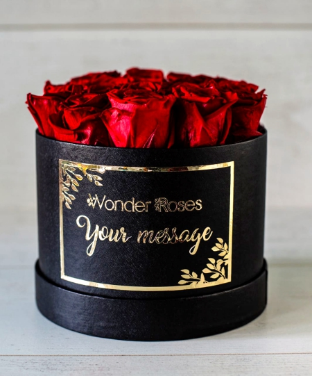 Roses in Personal Message Box