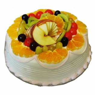 500 Gms Fresh Fruit cake