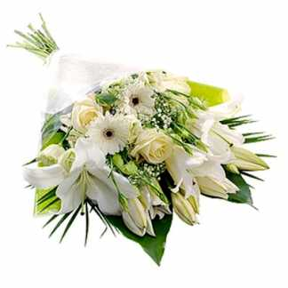 Condolence Flowers Bunch
