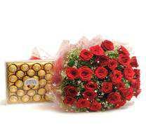 30 Red Roses, Ferrero Box