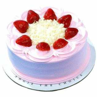 2 KG Strawberry Cake