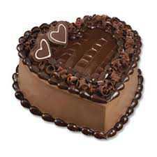 3 KG heart Shape Chocolate Truffle Cake
