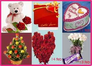 5 Days Gifts for Valentine