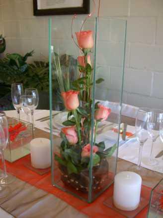 Under Vase Arrangement