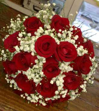 Double Gypsy 20 Red Roses