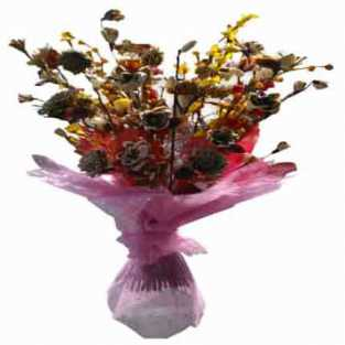 Dry (Artificial) Flowers Bouquet