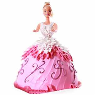 Doll Cake for Girls
