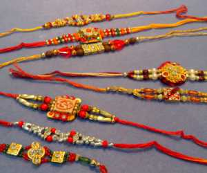 Set of 8 Rakhis C1894