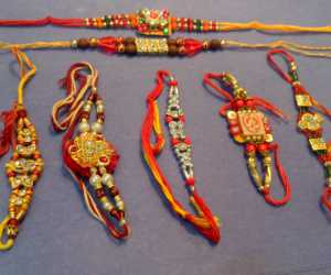 Set of 7 Rakhis C1893