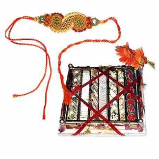 Garnished Moments Rakhi Hamper